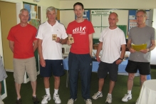 Runners-up in the Men's doubles