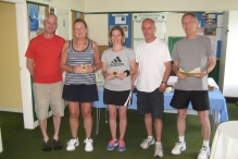 Runners-up Ladies Doubles